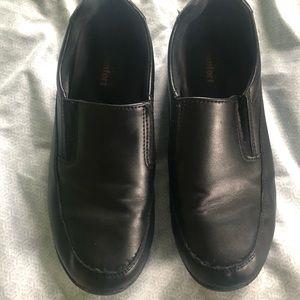 Non slip shoes.